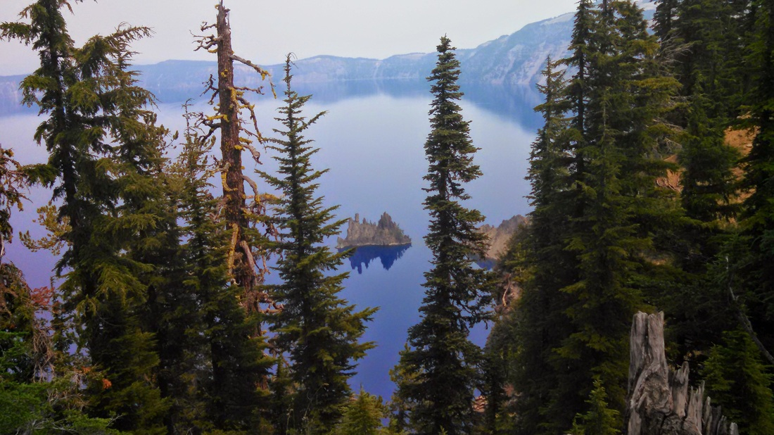 Crater Lake hidden ship