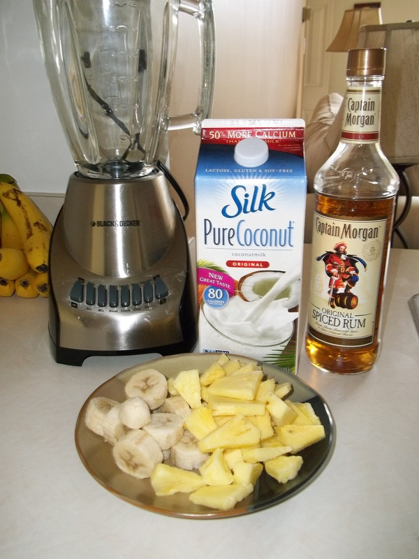pina colada ingredients
